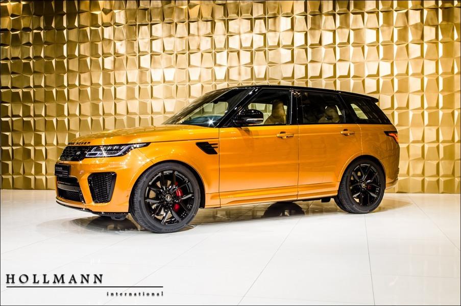 Land Rover<br>Range Rover Sport 5.0 V8 SVR MY19